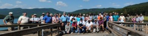 2012 Annual Farm Tour-Group Picture