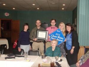 2014 Clean Water Farm Award- Bowknott Dairy