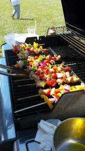2016 Abbott Farms EDU Field Day-Kabobs