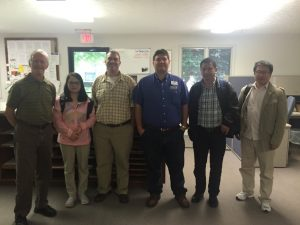 2016 Chinese Engineer Visit at USDA Service Center
